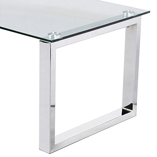home, kitchen, furniture, living room furniture, tables,  coffee tables 2 discount Topeakmart Modern Design Cocktail Coffee Table Tempered Glass promotion