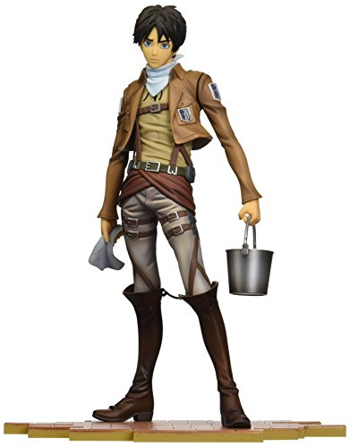"Sen-ti-nel Brave-Act Eren Jaeger Cleaning Version ""Attack on Titan"" Model Kit"