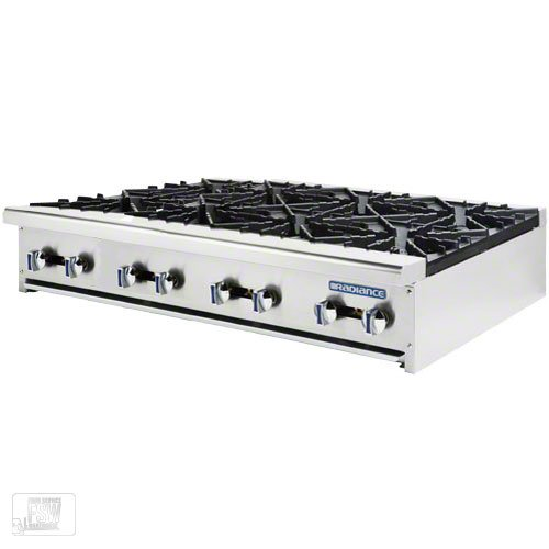 Turbo Air (TAHP-48-8) - 48'' Hot Plate – Radiance Series by Turbo Air