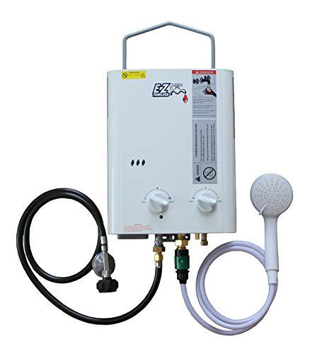 Gal Heater Hot Water Propane - CampChamp Portable Propane Tankless Water Heater System