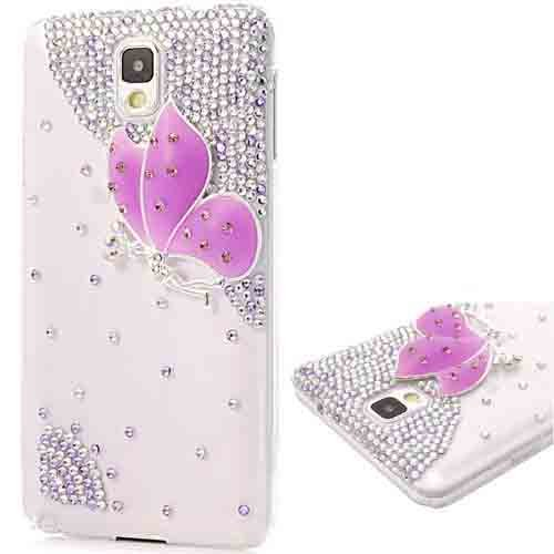 custodia brillantini samsung note 3