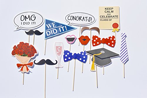 2017 Graduation Photo Booth Props Decorations for Your Party, - College Grads Gifts For
