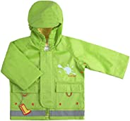 Rain Jacket 12M Granny Apple - Green