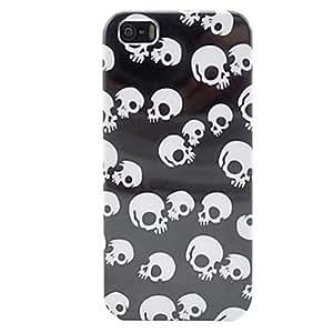 Fresco cráneo esqueleto de tapa dura de plástico para el iphone 5/5s