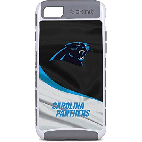 low priced 1f5e2 412af Skinit NFL Carolina Panthers iPhone 7 Cargo Case - Carolina Panthers Design  - Durable Double Layer Phone Cover