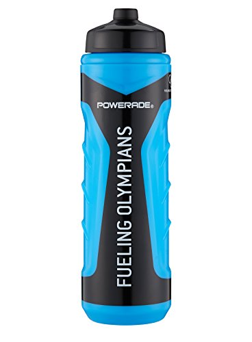 Powerade Olympic Squeeze Water Bottle, Cyan, 28 oz