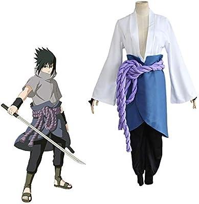 PAOFU-Naruto Uchiha Sasuke Traje de Cosplay Disfraz de Cosplay de ...