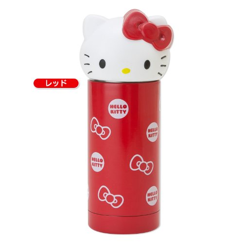 (Hello Kitty Stainless Thermos Mug Bottle Red)