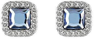 Pendientes de acero con piedra azul Liu Jo Luxury