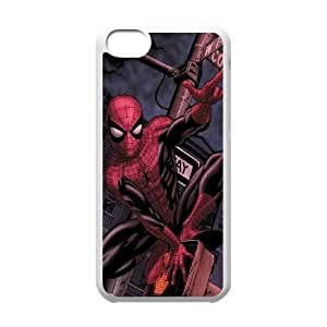 iPhone 5c Cell Phone Case White Marvel Spiderman LSO7754600