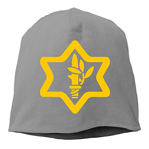 Israel Defense Forces IDF Israeli Army Unisex Skull Hat Knitted Hat Beanie Hats Cap for Winter (Army Cap Israeli)