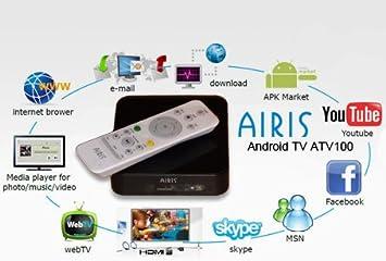 Airis Androidtv - Sintonizador de televisión Externo: Amazon ...