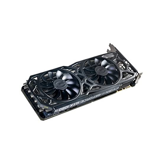 EVGA GeForce GTX 1080 Ti SC Black Edition Gaming, 11GB GDDR5X, iCX Cooler & LED, Optimized Airflow Design, Interlaced… 412LEeLB2NL. SS555
