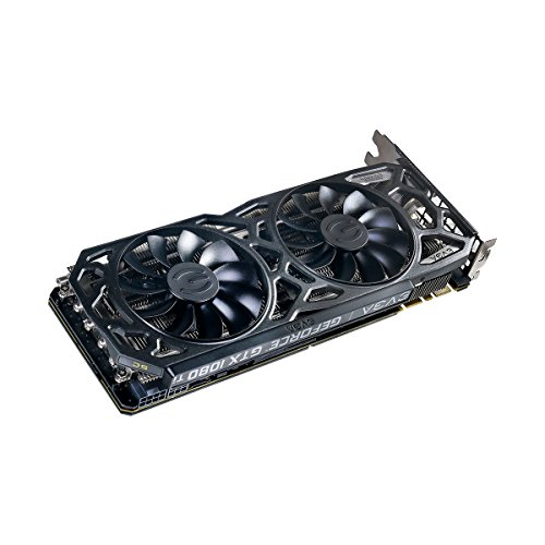 EVGA GeForce GTX 1080 Ti SC Black Edition GAMING, 11GB GDDR5X, iCX Cooler & LED, Optimized Airflow Design, Interlaced Pin Fin Graphics Card 11G-P4-6393-KR by EVGA (Image #5)