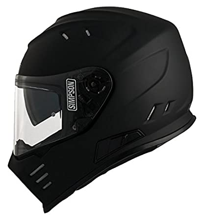 Size L Simpson Subdued Venom Helmet Matt Black-Grey