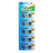 10 X AG13 LR44 Button Cells Batteries - A76 L1154 SR44 G13 357 - 1.5V