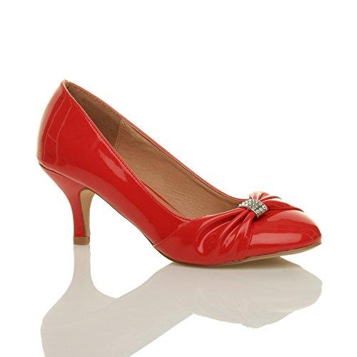 Zapatos rojos formales Footwear Sensation para mujer 3RRv7Nt