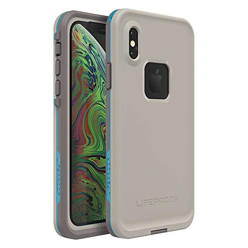 Lifeproof FRĒ Series Waterproof Case for iPhone Xs - Retail Packaging - Body SURF (Cement/Gargoyle/Hawaiian - Pull Apart Case