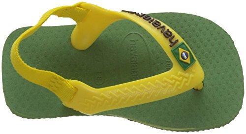 Unisex Para Brasil Bamboo Niños Verde green Logo Sandalias Ii Havaianas wOfxqUFg
