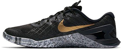 Zapatillas De Entrenamiento Nike Metcon 3 Amp Mujeres Cross Negro / Dorado-m
