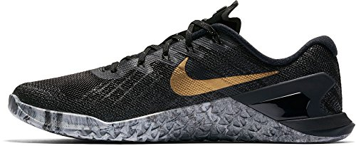 Nike Metcon 3 Amp Damen Cross Trainingsschuhe Schwarz / Gold-m