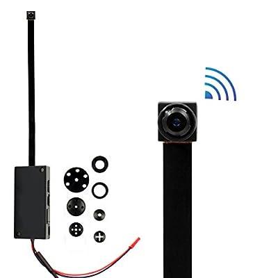 SpyGear-Mini wireless wifi spy hidden Camera , PANNOVO HD 720P wifi ip p2p Camera Motion Detection Wireless Video recorder - PANNOVO