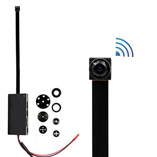 Mini Wireless WIFI Spy Hidden Camera, PANNOVO HD 720P WIFI I
