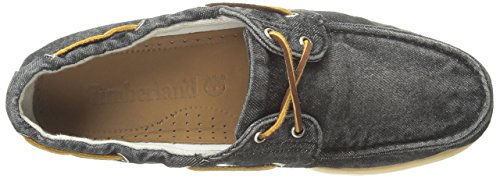 Timberland Cls2I Boat, Chaussures de voile homme, Black Denim, 46