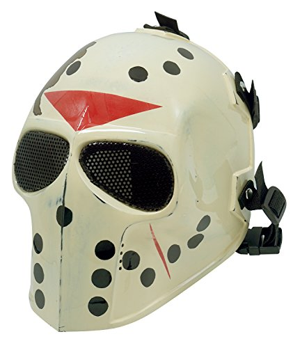 Army of Two Airsoft Mask Protective Gear Full Face Outdoor Sport Fancy Party Masks Bb Gun Mesh eyes (Jason)