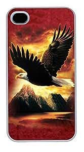 Dreamcatcher Fox PC Silicone For Case Samsung Galaxy S4 I9500 Cover White