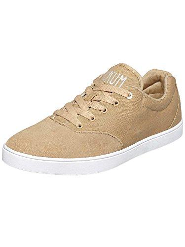 Sykum Unisex-Erwachsene Basic Sneakers Hellbraun