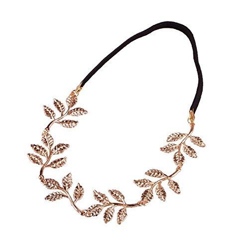 Lady Girls Fashion Olive Branch Leaves Leaf Design Wide