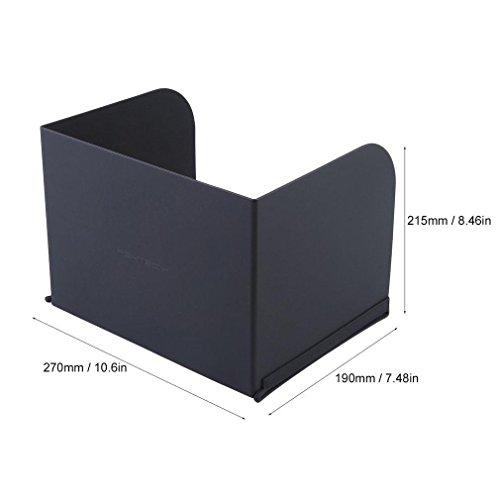 Favrison 12.9inch L270 Black FPV Phone Monitor Sun Shade Cover Tablets Pad Hood for DJI Phantom 4/3,Mavic Pro,Inspire,OSMO,M600 Monitor Remote Controller