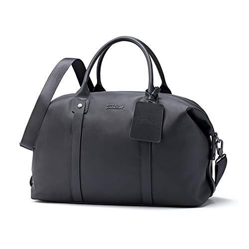 - Titleist Duffle Bag (Solid Boston Bag, Charcoal)