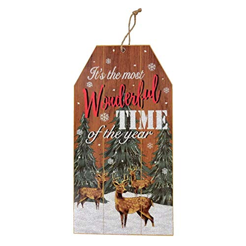 Christmas Decoration Merry Wooden Wall Signs 14