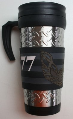 Diesel Power Plus 77 Pontiac Firebird Diamond Plate Travel Mug