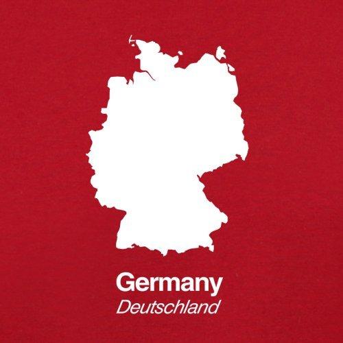Viaje Silueta Rojo Bolsa Retro Rojo De Alemania TtqxAwSS