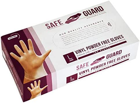Disposable Gloves: Safeguard Vinyl Gloves