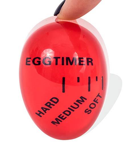 (Mevis Line - Egg Timer for Soft, Medium or Hard Boiled Eggs, Kitchen Gadget That Changes Color When)