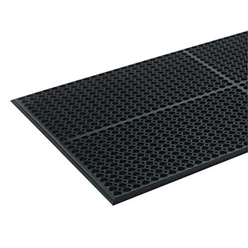 (SC Doormats Floor mats Light Heavy-Duty Anti-Fatigue Mat Rubber 36 inch x 60 inch Black)