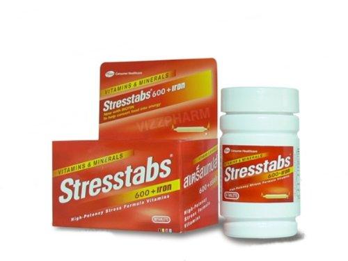 Stresstabs 600 + Iron 60 Capsules. [Get Free Herbal ()