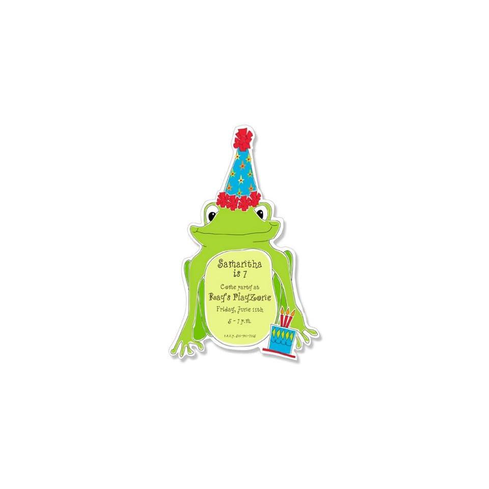 Childrens Birthday Party Invitations   Get Hoppy Party Invitation
