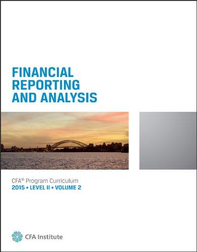 2015 CFA Level 2 Curriculum Book 1-6