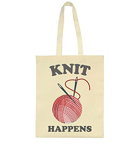 Knit Knit Bag Happens Happens Tote Tote Bag 80q4PnFq