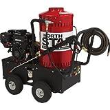 NorthStar Gas-Powered Wet Steam & Hot Water Pressure Washer - 2,700 PSI, 2.5 GPM