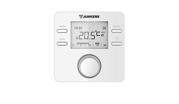 Junkers termostato regulador de la temperatura FR 120: Amazon.es: Bricolaje y herramientas