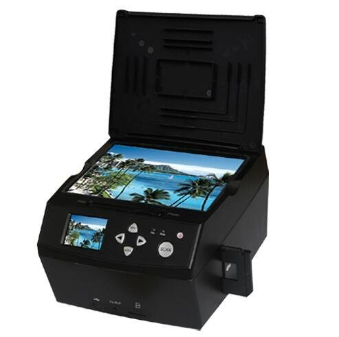 Emperor of Gadgets 14MP Premium Photo Scanner / Film Scanner - Now Includes Free 8GB Memory Card! | Convert Photos and Film to Digital JPG Files by Emperor of Gadgets