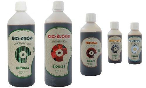 Bio Grow Biobizz Starter Kit - , Bio Bloom, Top Max, Root Juice & Bio Heaven