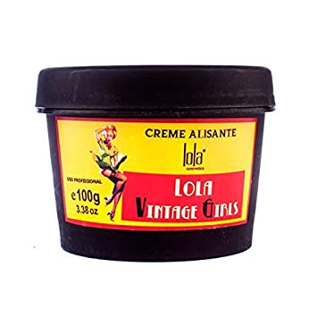 Hair Botox Lola Vintage Girls 100gr / 3.3 Oz - Formaldehyde FREE - Brazilian Straightening Cream