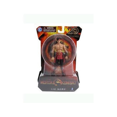 Liu Kang Mortal Kombat 9 Action Figure (4 Inch)